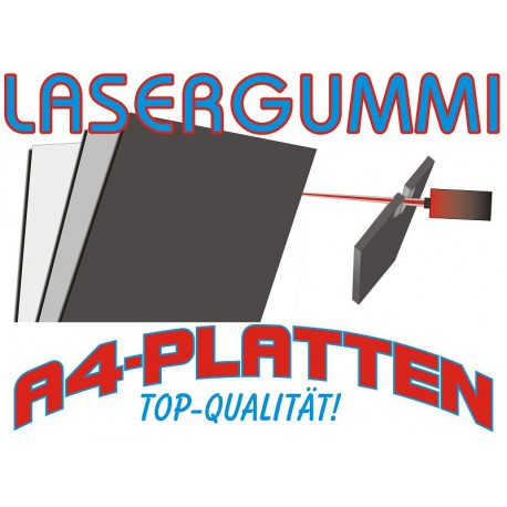 10 Stück COLOP Lasergummi DIN-A4 2,3 mm