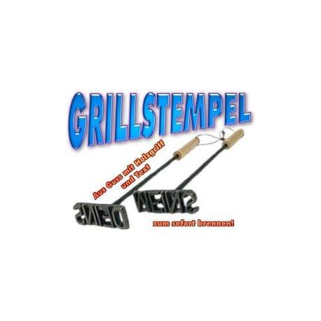 Grillstempel - Grillbrandeisen im Set