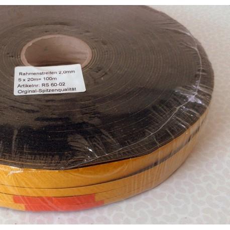 Rahmenstreifen 2mm, 100m Packung